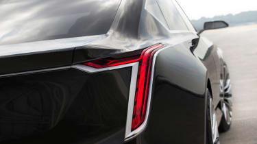 Cadillac Escala concept - tail light