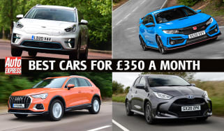 Best new cars for under £350 per month