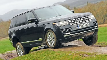 Range Rover front tracking