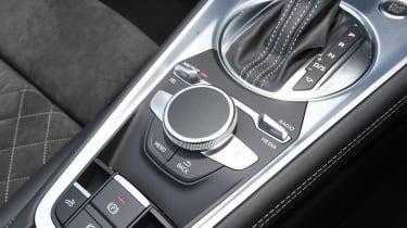 Audi TT Roadster - interior detail
