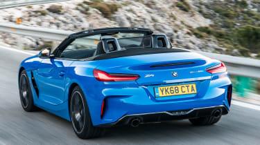 BMW Z4 - rear tracking