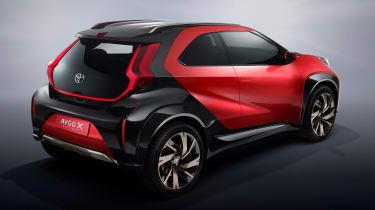 Toyota Aygo X prototype - studio rear