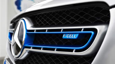Mercedes GLC F-Cell - grille
