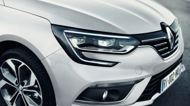 New Renault Megane Grand Coupe - front detail