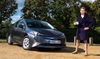 Toyota Prius long-term test - final report header