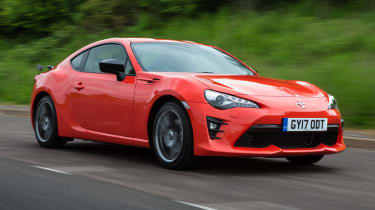 Toyota GT86 Orange Edition - front