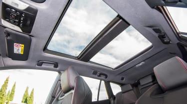 Toyota Corolla Touring Sports prototype - panoramic roof