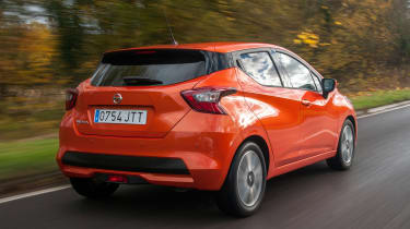 New Nissan Micra - rear