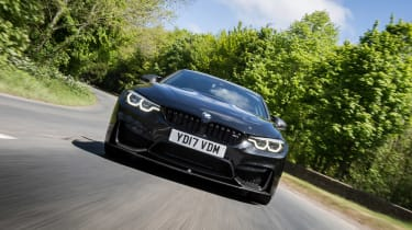 BMW M4 2017 facelift  nose