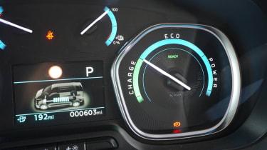 Vauxhall Vivaro-e - dials
