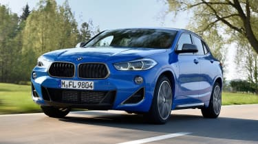 BMW X2 M35i - front/side action