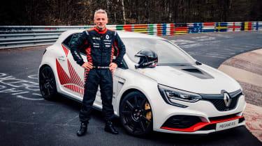 Renault Megane R.S Trophy-R record