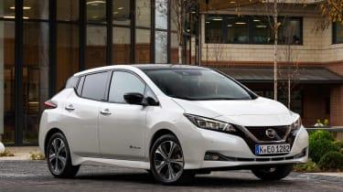 Nissan Leaf - front static
