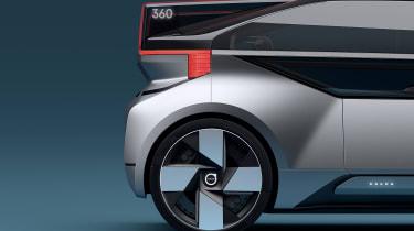 Volvo 360c concept - wheel