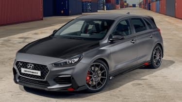 Hyundai i30 N Project C - front 3/4 static