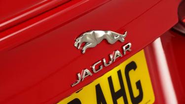 Jaguar XE - rear badge