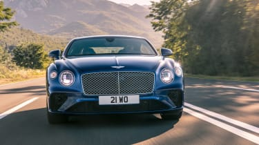 Bentley Continental GT - full front action