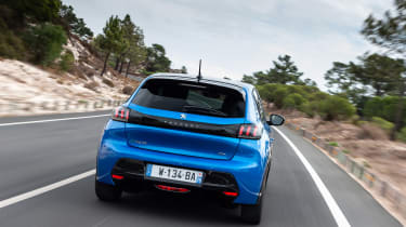 Peugeot e-208 - full rear