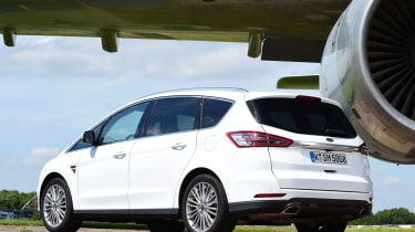 Ford S-MAX - rear static