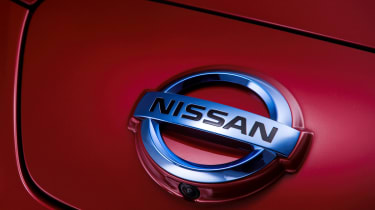Nissan Leaf badge
