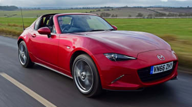 Used Mazda MX-5 - front action