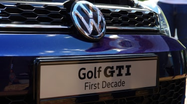 Volkswagen Golf GTI First Decade Worthersee reveal
