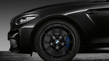 BMW M2 Coupe Edition Black Shadow - front detail