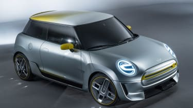 MINI Electric concept - front/above