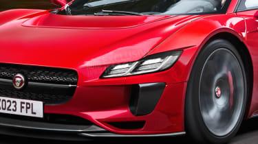 Jaguar F-Type - front detail (watermarked)