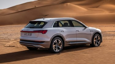 Audi e-tron - rear static