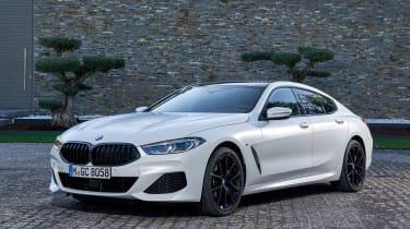 BMW 8 Series Gran Coupe - front static