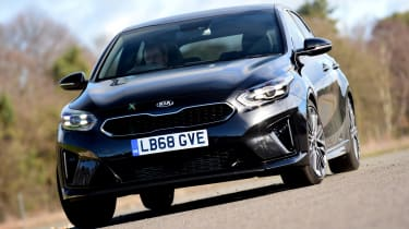 Kia Ceed GT-Line S long termer - front action