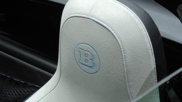 Smart Fortwo Brabus Geneva - headrest