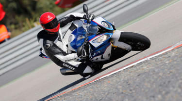 BMW S1000RR Sport track