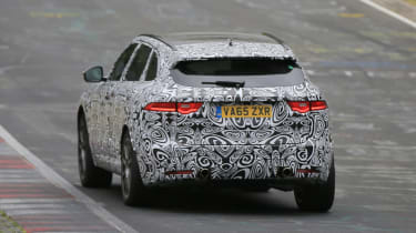 Jaguar F-Pace SVR spy shots 'ring