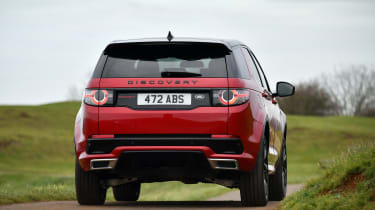 Land Rover Discovery Sport - rear action