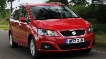SEAT Alhambra front tracking