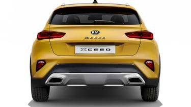 Kia XCeed - studio full rear
