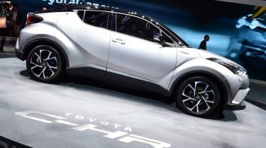 Toyota C-HR - Geneva show side