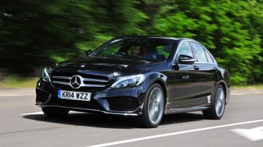 Mercedes C-Class - front tracking