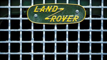 Land Rover Series 1 Reborn - badge