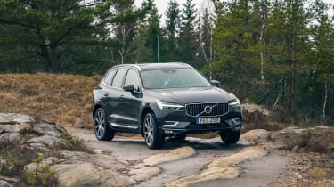Volvo XC60 ride review - front bumps