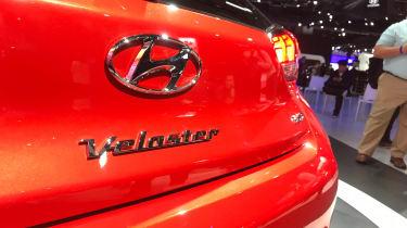 New Hyundai Veloster - Detroit badge