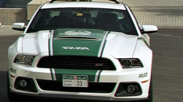 Shelby police car