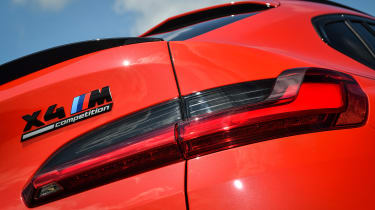 BMW X4 M Competition - rearlight
