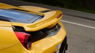 Ferrari 488 Pista Spider - rear detail