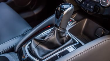 New Nissan Qashqai 2017 review shifter