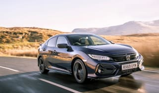 New Honda Civic Sport Line front