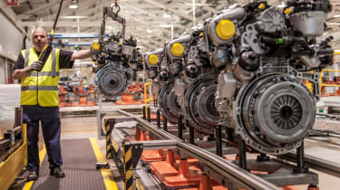 Ford 1.6 TDCi comes off the line at famous Dagenham plant