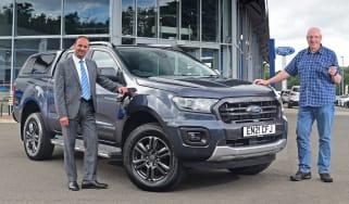 Ford Ranger Wildtrak long termer - first report header